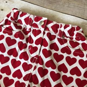 Gymboree Bottoms - Gymboree toddler heart skirt